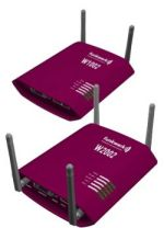 Wireless-LAN-Access-Points funkwerk W1002 und funkwerk W2002