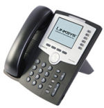 SPA962 - 6-Line IP Phone mit Farbdisplay von Linksys