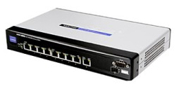 Neue 8 Port Gigabit-Switches von Linksys