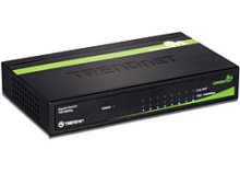TEG-S80Dg - sparsamer Gigabit Switch von TRENDnet