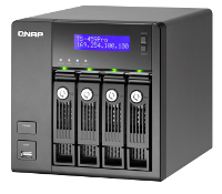 All-in-One-iSCSI-Turbo NAS-Server mit Intel Atom Prozessor D510