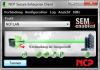 Zentral gemanagte VPN Client Suite für Windows 7