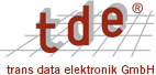 trans data elektronik GmbH Logo