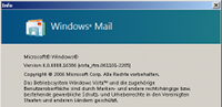 Windows  Mail einrichten
